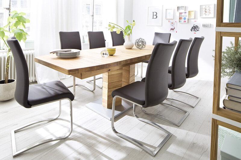 Набор из 2 стульев Arco, серый