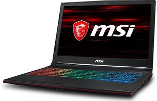 MSI GP63 Leopard (8RE-060XPL) 32 GB RAM/ 128 GB M.2 PCIe/ 128 GB SSD/ Windows 10 Home