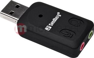Sandberg external sound card USB to Sound Link (133-33)