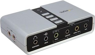 StarTech USB AUDIO ADAPTER SOUND CARD - ICUSBAUDIO7D