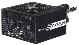 Corsair CX 650M (CP-9020103-EU) cena un informācija | Barošanas bloki (PSU) | 220.lv