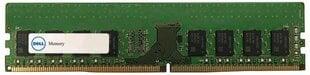 Dell DDR4, 16GB, 2400MHz, UDIMM (A9321912) cena un informācija | Operatīvā atmiņa (RAM) | 220.lv
