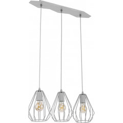 TK Lighting griestu lampa Brylant Gray 2229