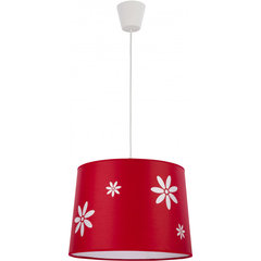 TK Lighting griestu lampa Flora Red