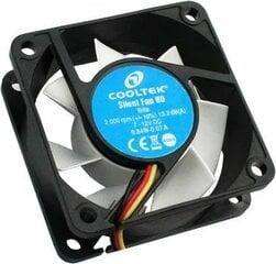 Cooltek CT-Silent Fan 60 (200400235) cena un informācija | Datora ventilatori | 220.lv