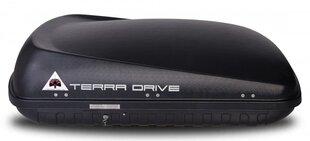 Jumta bagāžnieks Terra Drive 420, melns