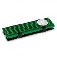 EK Water Blocks EK-M.2 Radiator NVMe Green (3830046994752) cena un informācija | Ūdens dzesēšana - aksesuāri | 220.lv