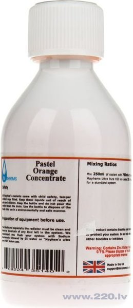 Mayhems X1 Concentrate - Orange gigabyte - 250ml (609224351402)