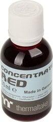 Thermaltake Premium concentrate, 50ml, Red (CL-W163-OS00RE-A) cena un informācija   Ūdens dzesēšana - aksesuāri   220.lv