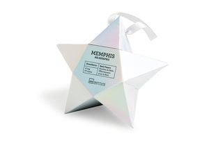 Vannas bumbu komplekts IDC Institute Memphis Holographic Bath Fizzers 6 x 15 g