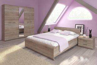 Guļamistabu mēbeļu komplekts Link, ozola krāsa cena un informācija | Komplekti guļamistabai | 220.lv