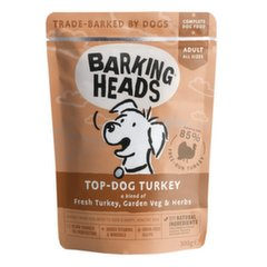 Barking heads Top Dog Turkey 300 g