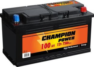 Akumulators Champion Power 100AH 750A