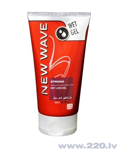Matu veidošanas želeja Wella New Wave Wet Look 150 ml