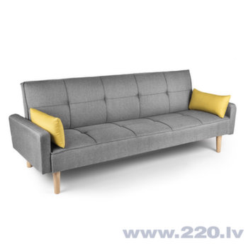 Dīvāns Kani, pelēks