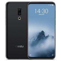 Meizu 16, 128 GB Dual SIM, Melns