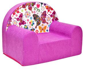 Krēsls Welox Maxx M33, rozā/balts