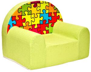 Krēsls Welox Maxx Z34, zaļš/sarkans