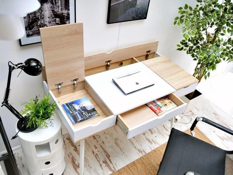 Galds konsolei Boden, balts интернет-магазин