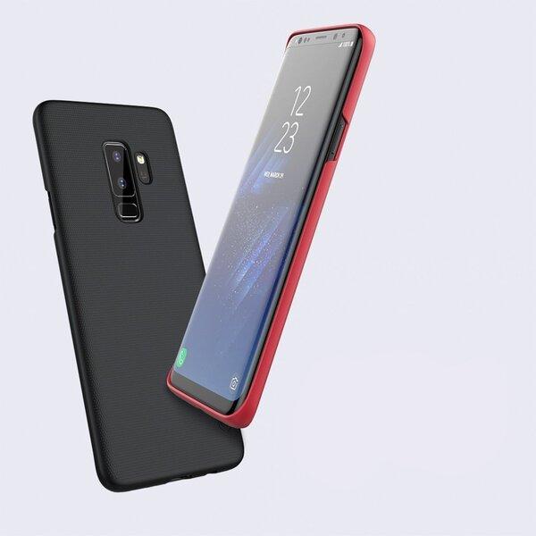 Nillkin Super Frosted Shield vāciņš telefonam Samsung Galaxy S9 Plus G965 rozā