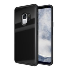 Tempered Glass maciņš telefonam Samsung Galaxy S9 G960 melns