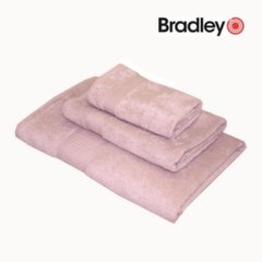 Vannas dvielis Bamboo 50x70 rozā cena un informācija | Dvieļi | 220.lv