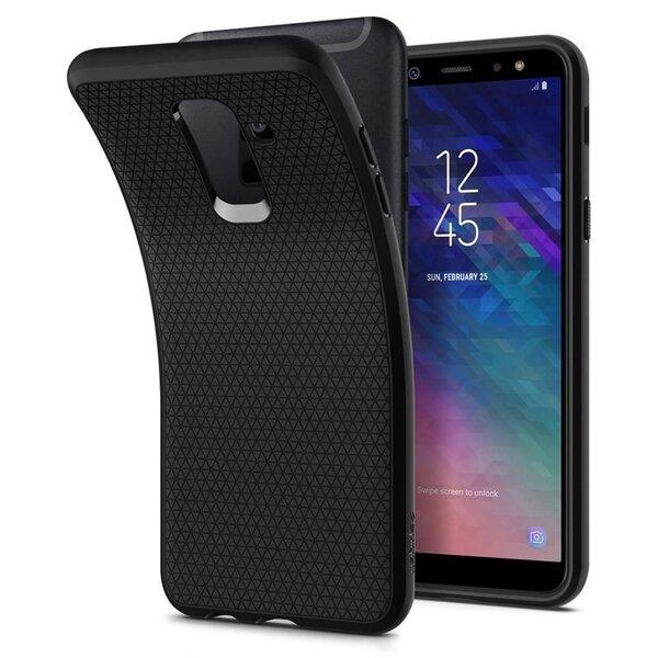 Spigen, для Samsung Galaxy A6 Plus 2018 A605, черный