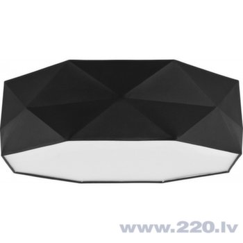 TK Lighting griestu gaismeklis Kantoor Black