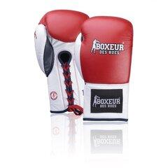 Boksa cimdi Spokey Boxeur BXT-5204, sarkana