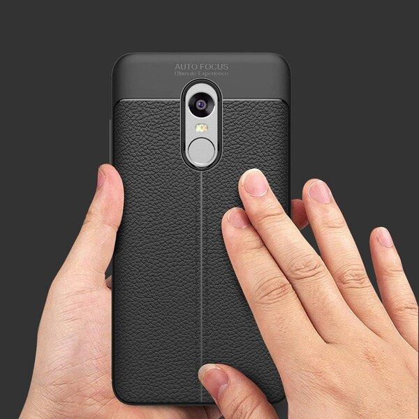 Hurtel, priekš Xiaomi Redmi 5 Plus/Redmi Note 5, Melns lētāk