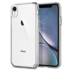 Spigen, для Apple iPhone XR, прозрачный