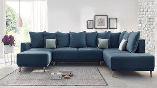 Mīksts dīvāns BoboChic Mola XXL, zils cena un informācija | Dīvāni un krēsli | 220.lv
