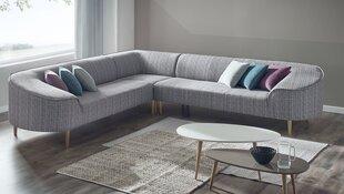 Universālais mīkstais stūra dīvāns BoboChic Barcelona, pelēks / zils / sarkans cena un informācija | Dīvāni un krēsli | 220.lv