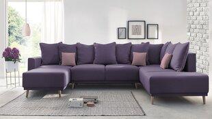 Stūra dīvāns BoboChic Mola XXL, violets