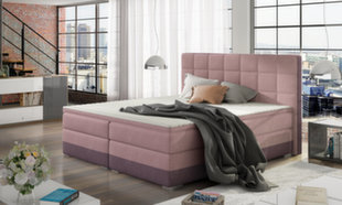 Gulta Damaso, 180 x 200 cm, rozā/violeta