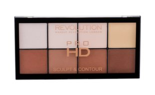 Sejas konturēšanas palete Makeup Revolution London HD Pro Sculpt and Contour 15 g