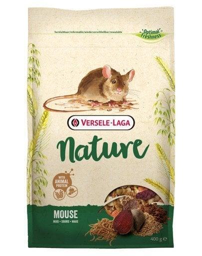 Versele Laga pilnvērtīga barība pelēm Mouse Nature, 0,4 kg