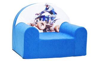 Krēsls Welox Maxx C26, zils/balts