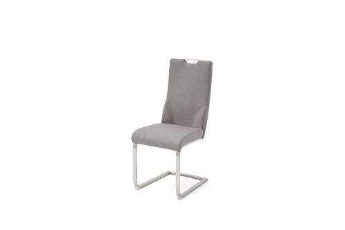 Комплект из 2 стульев Giulia C, гобелен, светло-серый