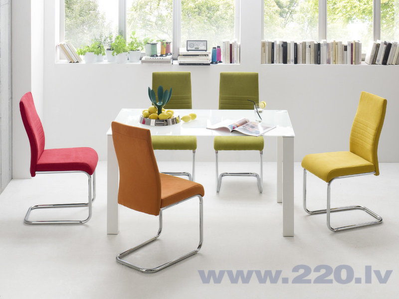 Комплект 4-х стульев Jonas, зеленый