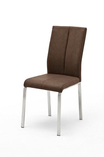 2 krēslu komplekts Flores C-2, tumši brūns