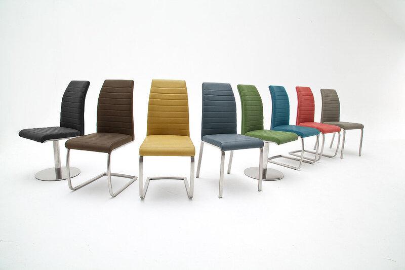 Набор из 2 стульев Flores A-3, красный