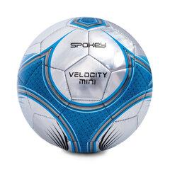 Futbola bumba Spokey Velocity mini, zila