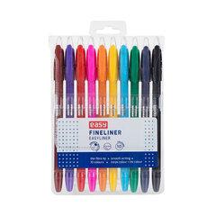 Pildspalvas Easy Fineliner, 10 gab. cena un informācija | Rakstāmpiederumi | 220.lv