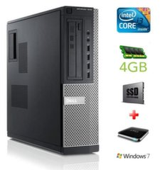 DELL 7010 DT i3-2120 4GB 120SSD+1TB NODVD WIN7Pro