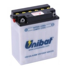 Аккумулятор Unibat 12 V 12 Ah -+ 165 A