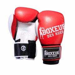 Boksa cimdi Spokey Boxeur BXT-5124, sarkani