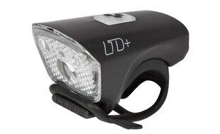 "Priekšējais lukturis Cube LTD+ ""White LED"" USB 40 lm, melns"