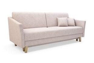 Dīvāns Bonari, rozā cena un informācija | Dīvāni un krēsli | 220.lv