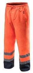 Labas redzamības darba bikses Neo, oranžas, pielāgojams izmērs